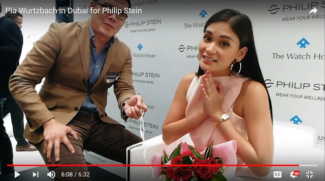 An interview with Miss Universe Pia Wurtzbach in Dubai