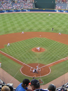 First pitch, Phillies vs. Braves