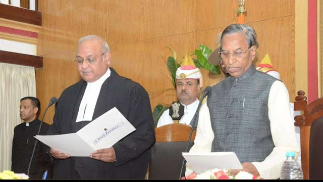 Ganga Prasad takes oath as 16th Governor of Sikkim
