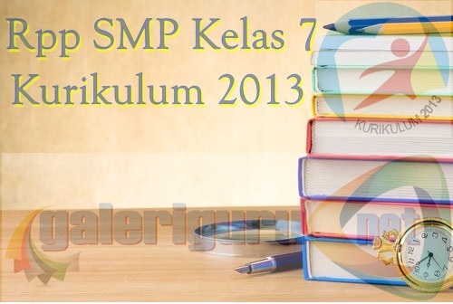 Rpp Bahasa Indonesia SMP Kelas 7 Kurikulum 2013 Revisi 2016