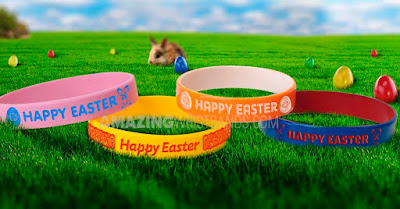 Custom Designed Easter Wristbands