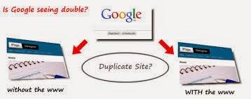 menghindari duplicate content untuk mendapatkan rangking 1 google