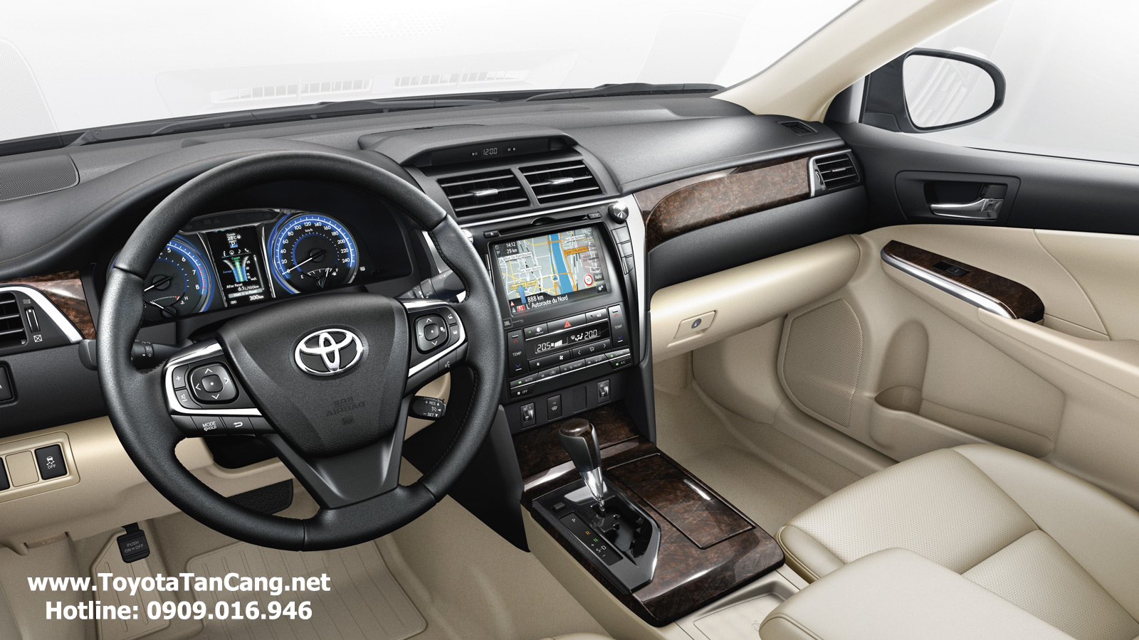 toyota camry 2015 toyota tan cang 23 -  - Với chỉ 400 triệu đồng có thể mua Xe Toyota Camry 2015 ?