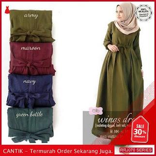 Jual RRJ070D132 Dress Best Seller Wanita Wing Dress Balotelly BMGShop