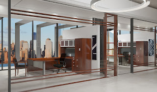 Cherryman Jade Executive Office Furniture