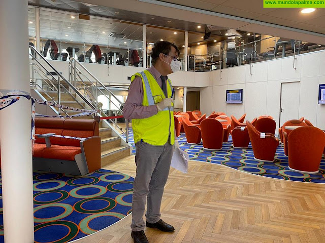 Fred. Olsen es la primera empresa del sector turismo, movilidad y transporte de España en certificar con AENOR sus protocolos frente a la COVID-19