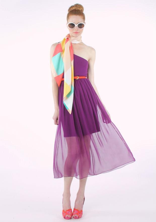 vestido estilo años 60 para fiesta de 15