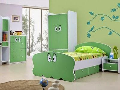R Tidur Anak Warna Hijau