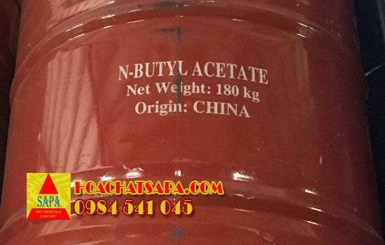 Dung môi Butyl Acetate BAC - Dầu Chuối Công Nghiệp