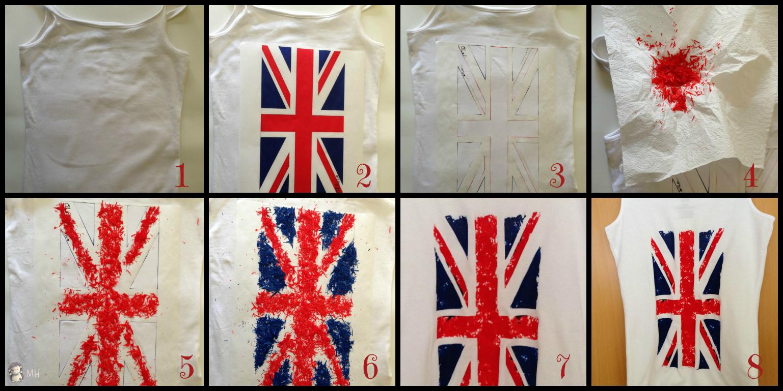 camiseta bandera inglesa plastidecor
