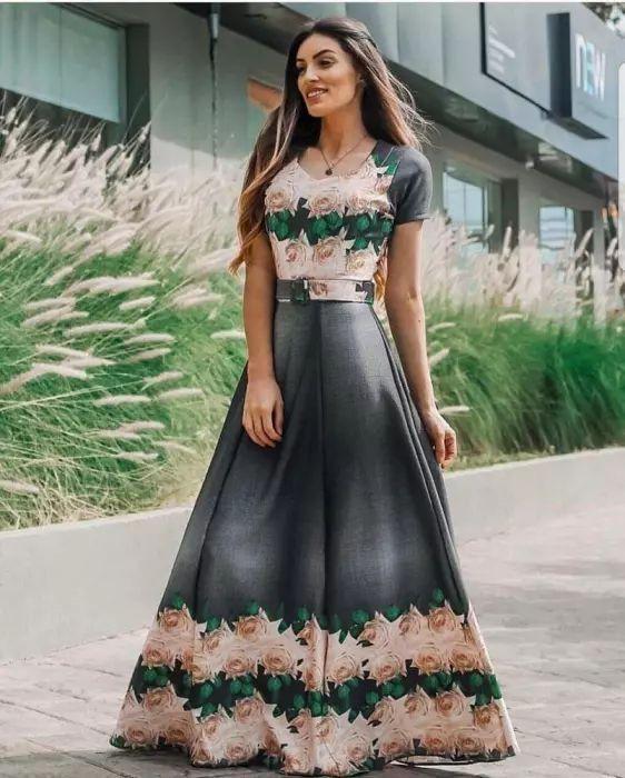 vestido longo -moda evangélica -lija flor de amendoa