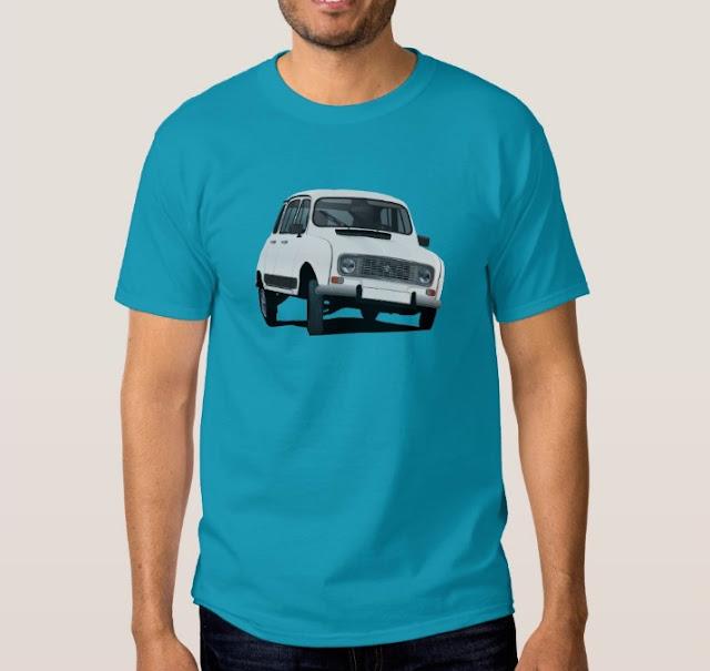 Renault 4L t-paita