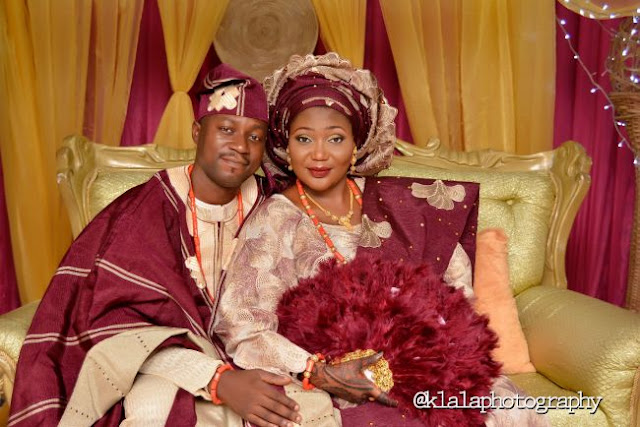 Amazing engagement ceremony pictures of Fatimat and Tayo