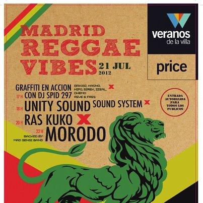 Madrid Reggae Vibes en el Teatro Price