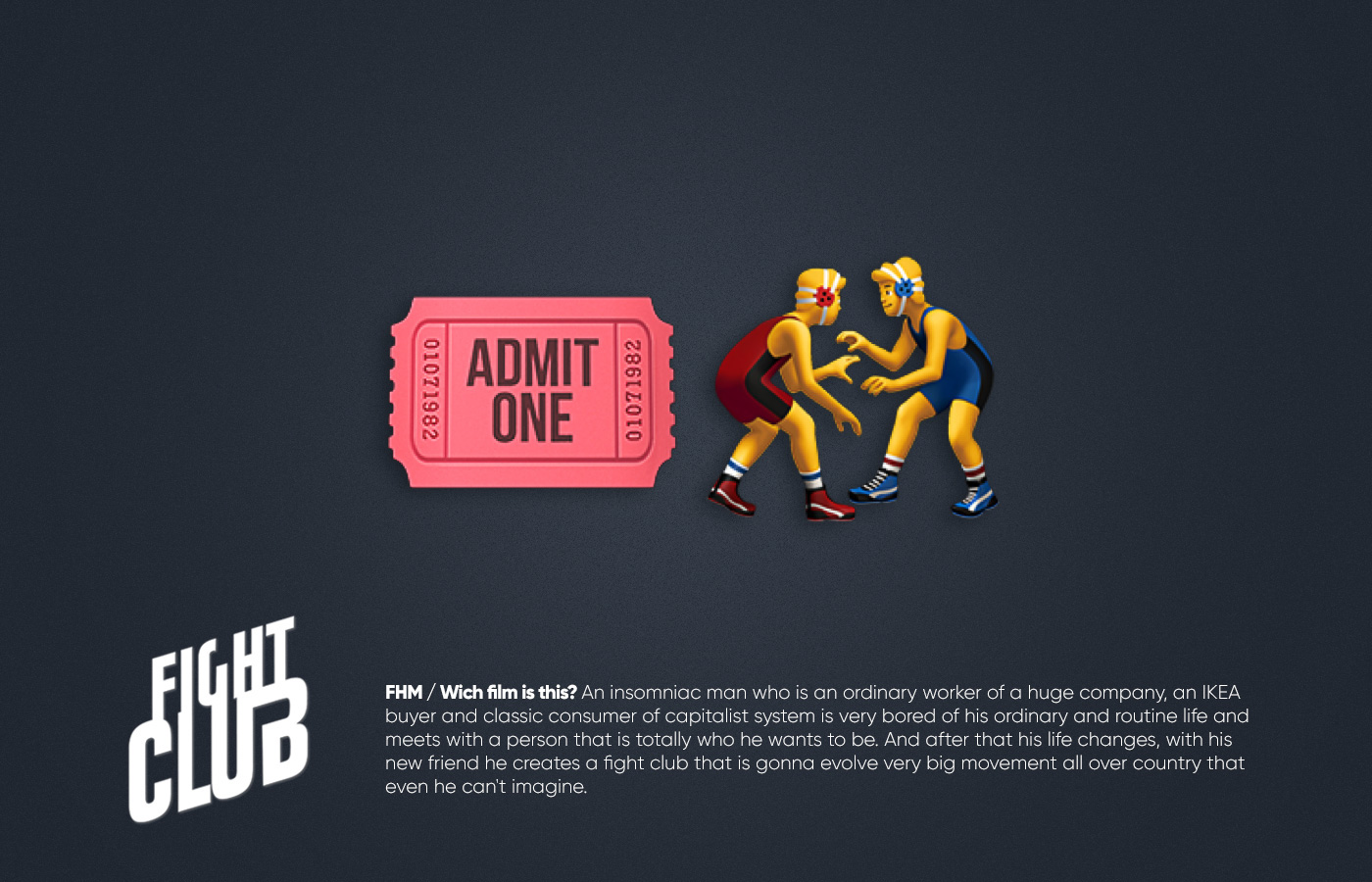 Películas famosas representadas por emojis - Agencia Graf