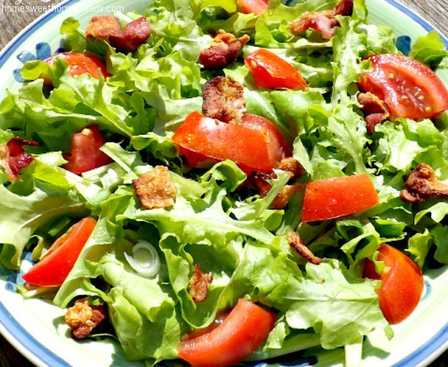 Home Sweet Homestead - BLT Salad