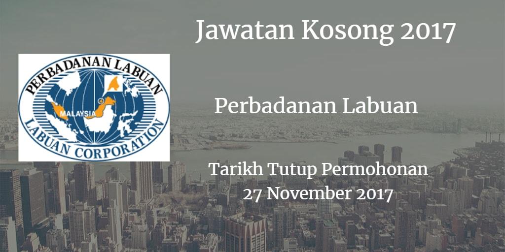 Jawatan Kosong Perbadanan Labuan 27 November 2017