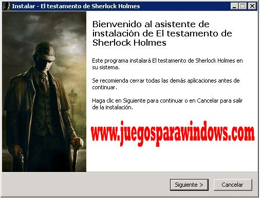 imagenes the testament of sherlock holmes PC