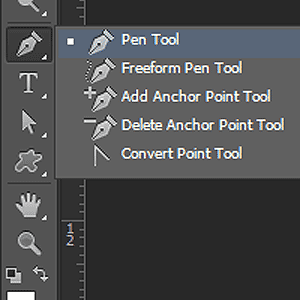 The Photoshop Pen tool