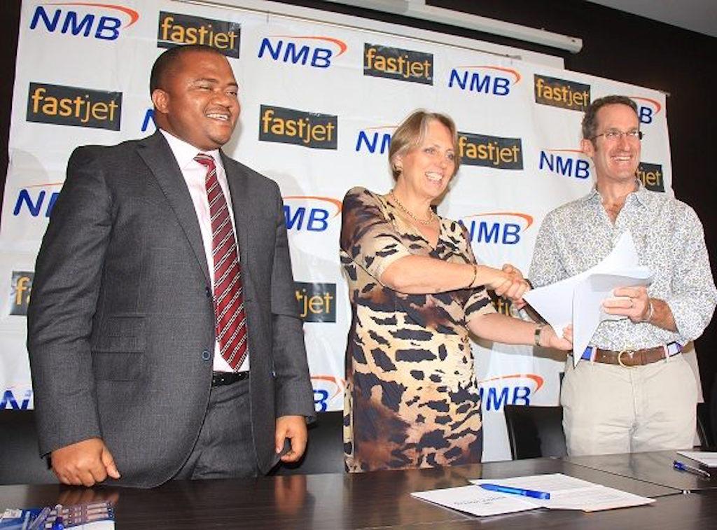 Kitomari Banking Finance Blog Fastjet Nmb Sign Deal To Ease