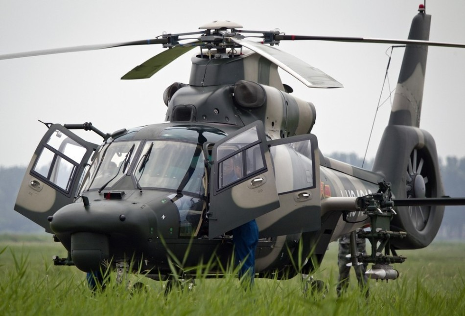 Chinese Z-9WZ armed helicopter | Global Military Review