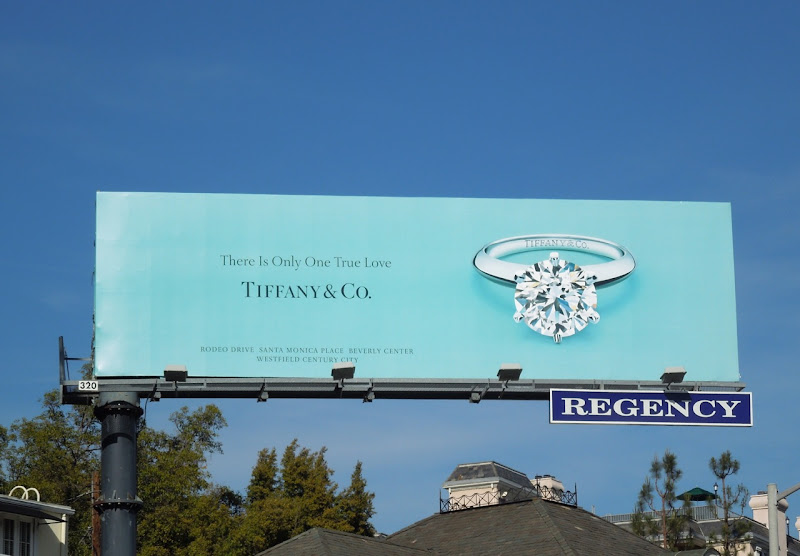 Tiffany one true love billboard