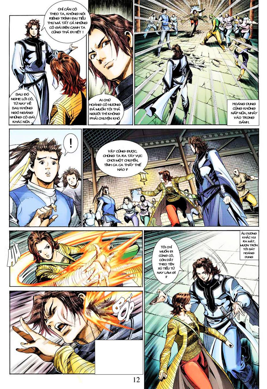 Anh Hùng Xạ Điêu anh hùng xạ đêu chap 35 trang 13
