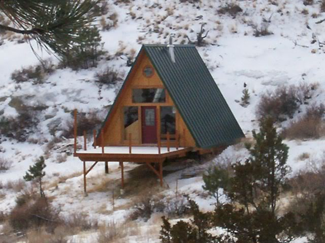 Relaxshacks Com Quot Good A Quot Mate An A Frame Tiny Cabin