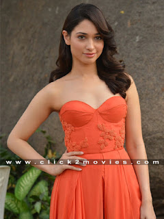 tamanna new stills at oopiri movie promotion