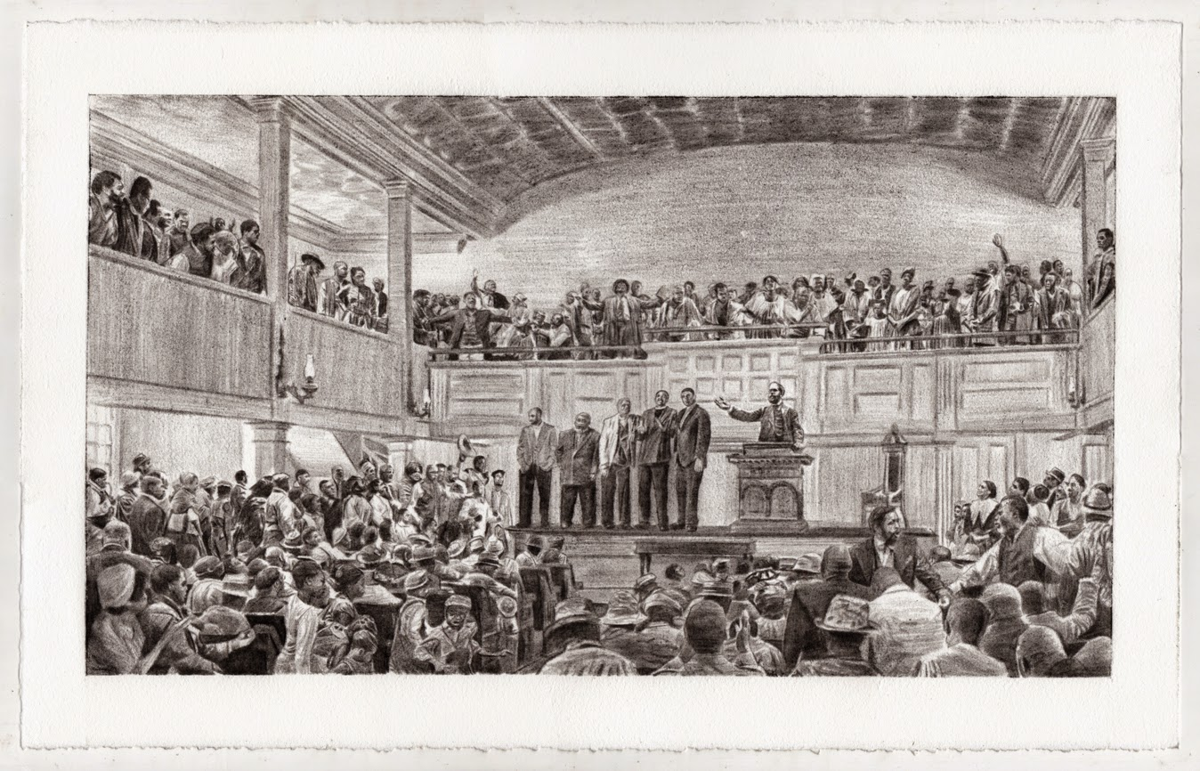 General Rufus Saxton's Speech at the Second African Baptist Church in Savannah, Georgia