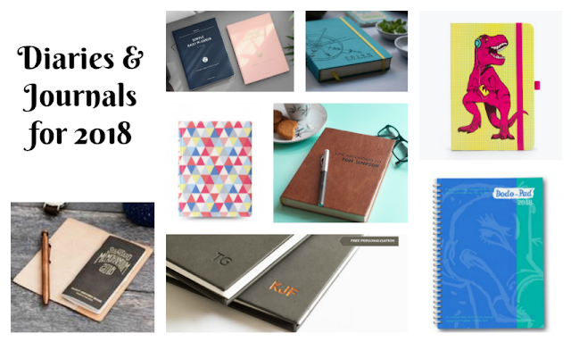 Diary And Journal Suggestions for 2018 - There are, however, some stand-out items in journal land so I've collated them to help you choose your diary for 2018.