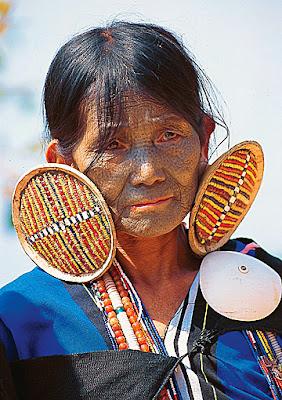 Makan Chin lady