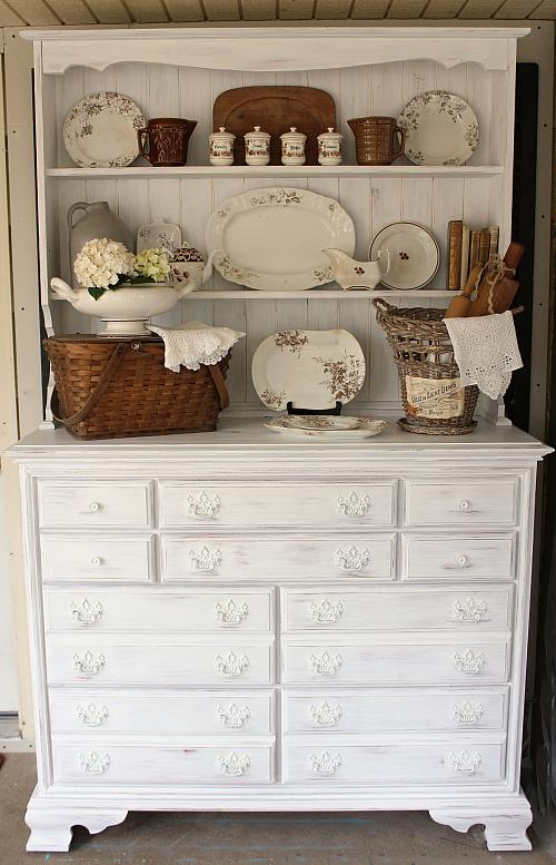 Visit My Farmhouse Cupboard Project...Fun Tutorial