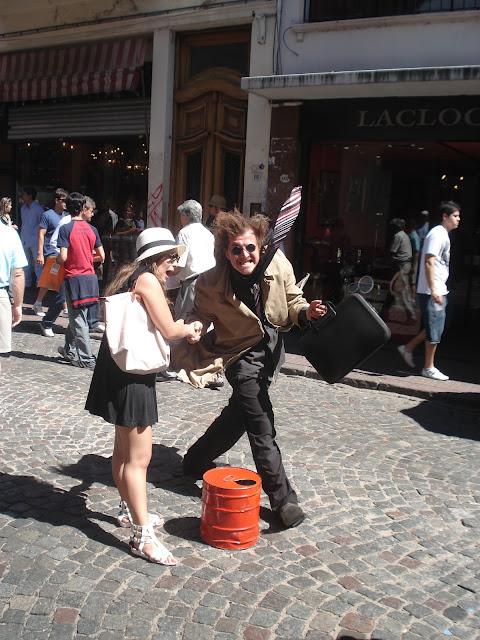 Personagem de Rua - San Telmo - Buenos Aires