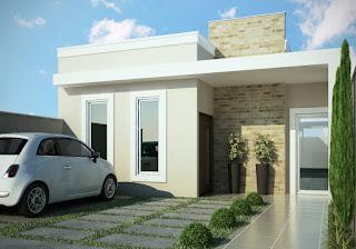 Desain rumah modern tanpa genteng