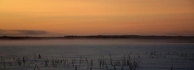 Vuokatti Nuasjärvi talvella