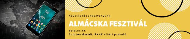 Következő rendezvényünk - Almácska Fesztivál