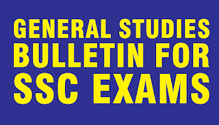 General Studies Bulletin for SSC Exams in PDF