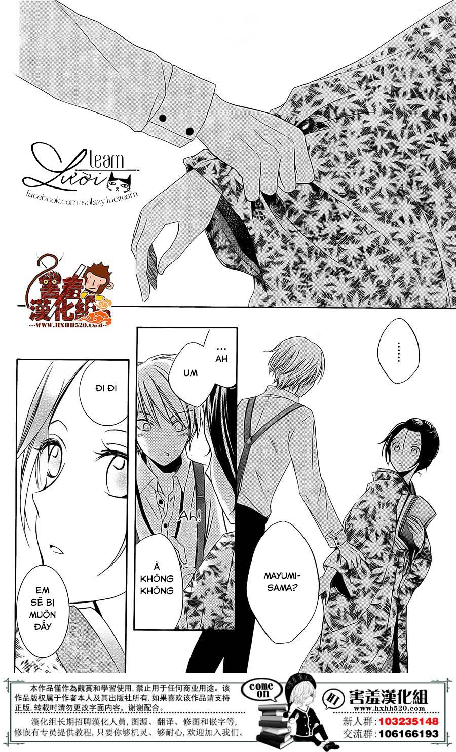 Haikei Mayumi-sama chap 3 - Trang 23