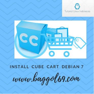 Cara  menginstall  Cube Cart  Debian  7