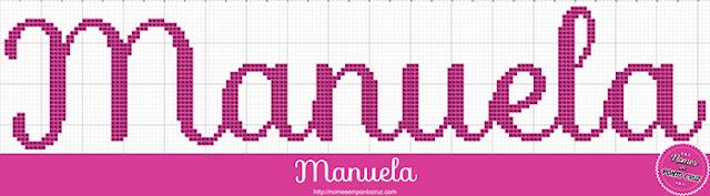 Nome Manuela em Ponto Cruz