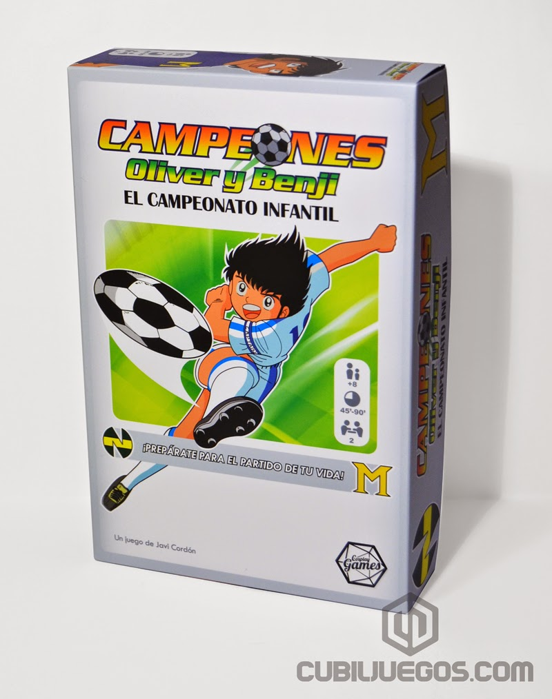 Campeones Oliver Y Benji Resena Cubil Juegos Blog Sobre