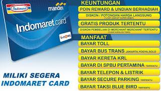 Fungsi Dan Manfaat Indomart Card