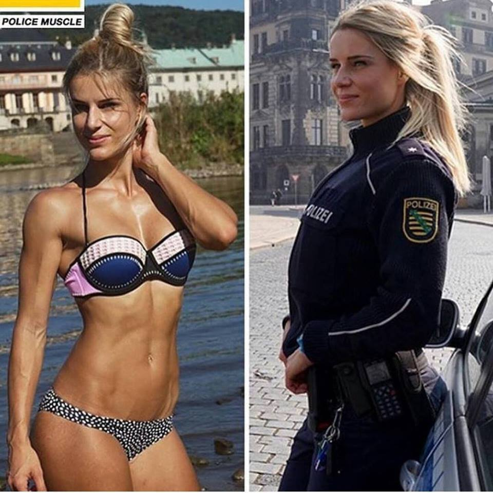 hot british police women