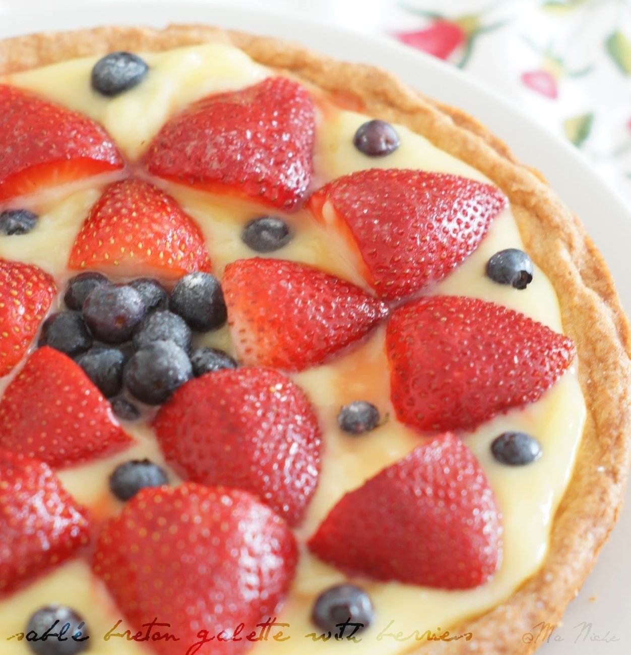 Breton Galette Recipe: Ma Niche : Sablé Breton Galette With Berries # French