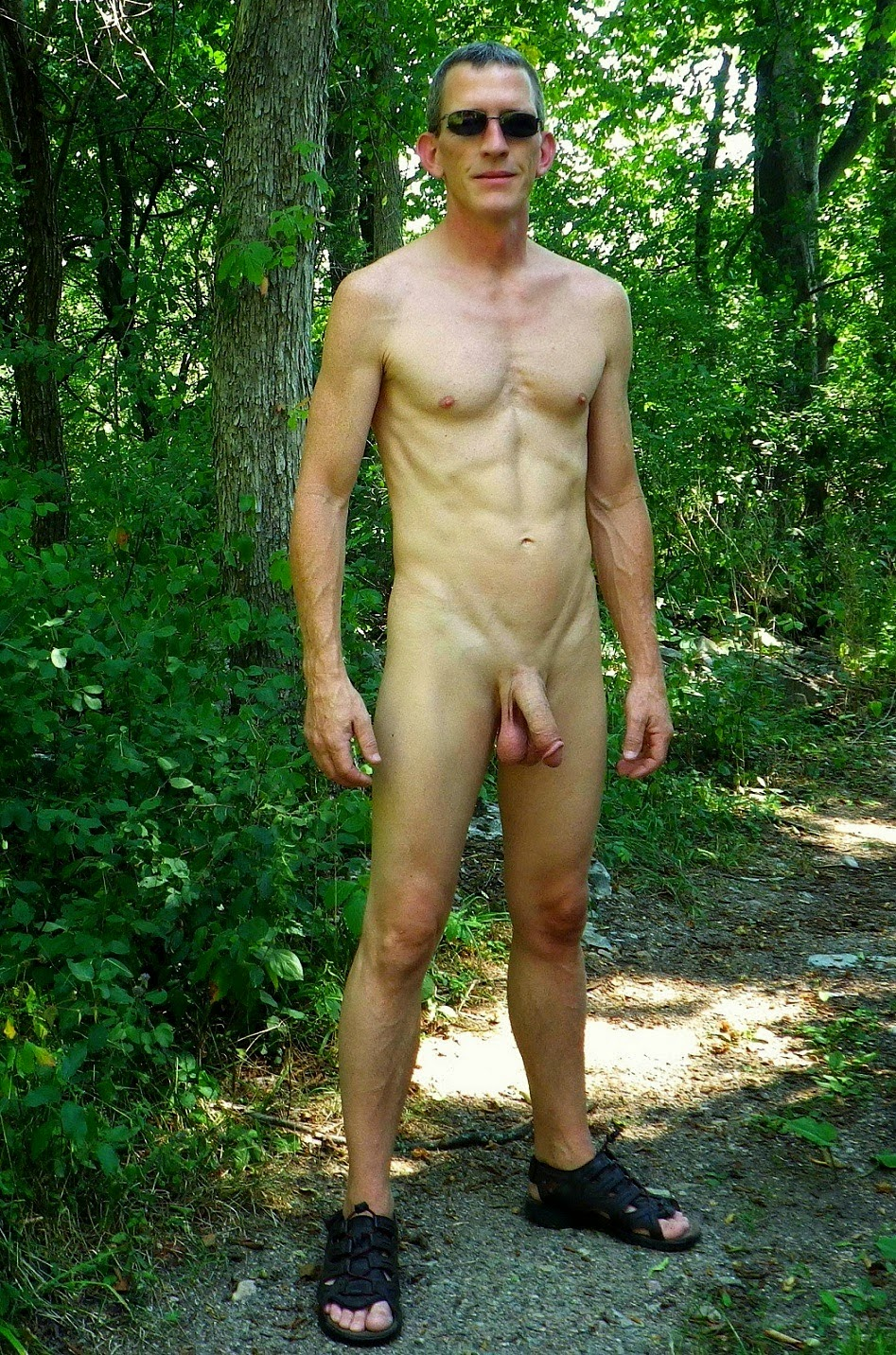 Men Naked Outdoors