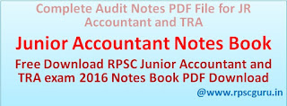 Junior Accountant and TRA exam 2016