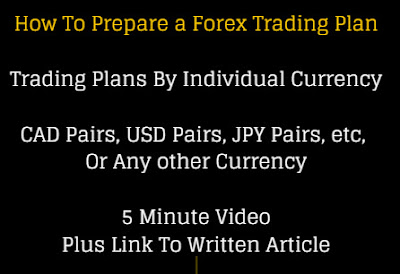 Preparing A Forex Tading Plan By Currency