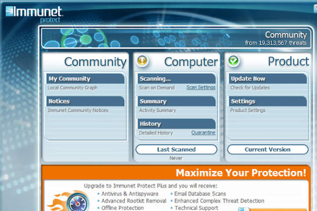 تحميل برنامج مكافحة الفيروسات Immunet Protect Free 6.0
