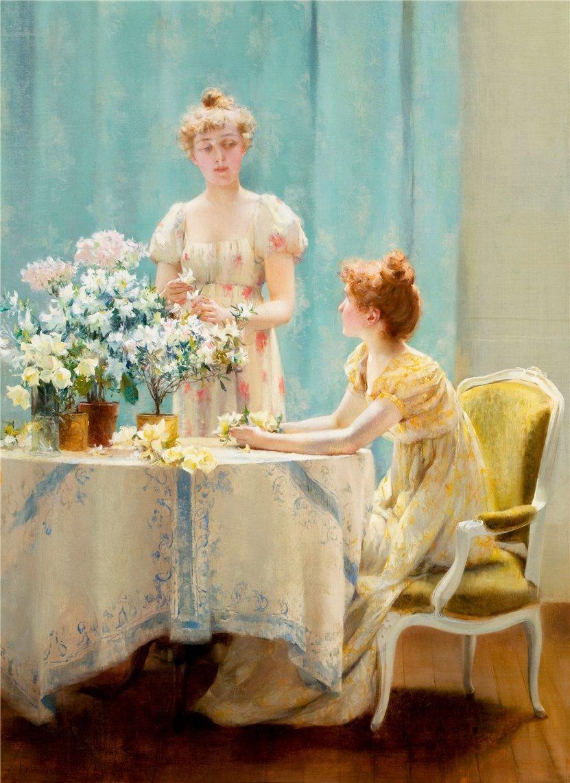 Paul Brown Dodge >> 19th century American Paintings: Francis Coates Jones